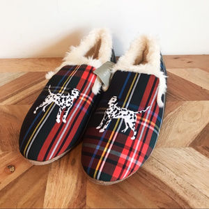 J. Crew | Dalmatian Loafer Embroidered Slippers